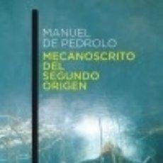 Libros: MECANOSCRITO DEL SEGUNDO ORIGEN AUSTRAL. Lote 70975837