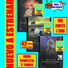 Libros: EL CANTO DE LAS BRUJAS MIREILLE CALMEL LA GRUTA DE MELUSINA EL PRÍNCIPE CAUTIVO SECRETO HADAS NUEVOS. Lote 127821919