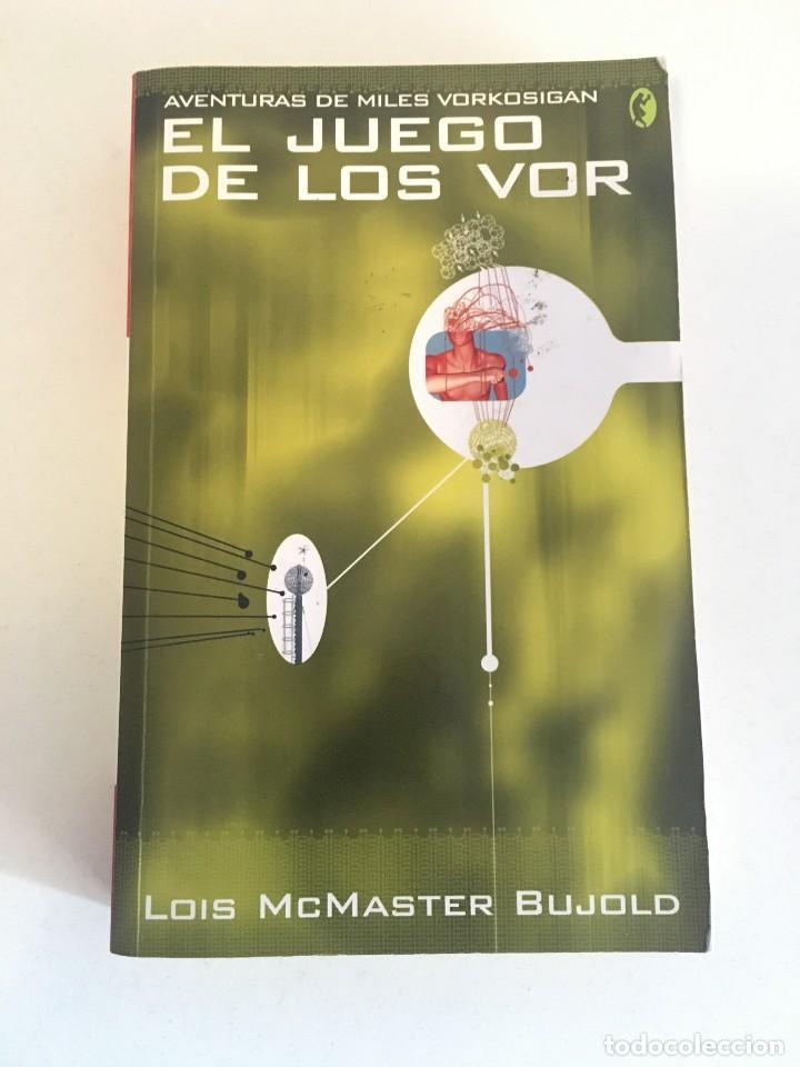 EL JUEGO DE LOS VOR - LOIS MCMASTER BUJOLD (Libros Nuevos - Literatura - Narrativa - Ciencia Ficción y Fantasía)