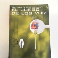 Libros: EL JUEGO DE LOS VOR - LOIS MCMASTER BUJOLD. Lote 128133047