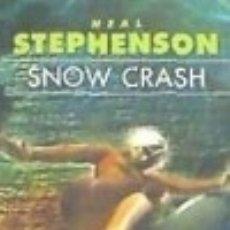 Libros: SNOW CRASH. Lote 128218156