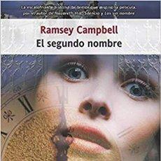 Livros: EL SEGUNDO NOMBRE (ECLIPSE) - RAMSEY CAMPBELL. Lote 130158196