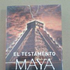 Libros: EL TESTAMENTO MAYA. STEVEN ALTEN. CIRCULO DE LECTORES. PRECINTADO. Lote 130446646