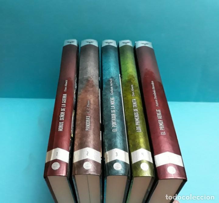 Libros: COLECCIÓN NOVELAS WARHAMMER 40K. HEREJÍA DE HORUS. - Foto 2 - 130615830