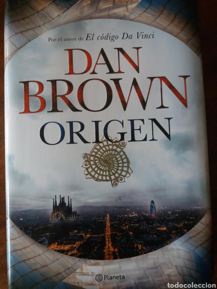 ORIGEN- DAN BROWN (Libros Nuevos - Literatura - Narrativa - Ciencia Ficción y Fantasía)