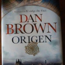 Libros: ORIGEN- DAN BROWN. Lote 132558975