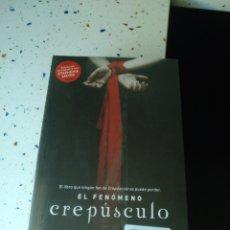 Libros: EL FENÓMENO CREPUSCULO. Lote 134087871