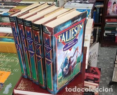 CICLO PANDRAGON (CINCO TOMOS), R. LAWHEAD, STEPHEN. A-LITFAN-0221 ,2 (Libros Nuevos - Literatura - Narrativa - Ciencia Ficción y Fantasía)