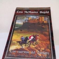 Libros: LIBRO LOS CUERVOS DEL SANGRE. Lote 144839730
