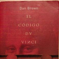 Libros: EL CÓDIGO DA VINCI, DAN BROWN. Lote 145298098