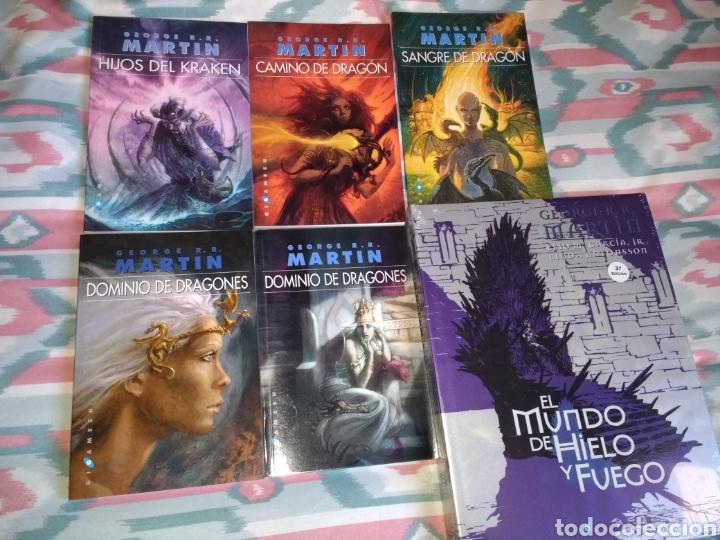 CANCIÓN DE HIELO Y FUEGO (14 LIBROS). (Libros Nuevos - Literatura - Narrativa - Ciencia Ficción y Fantasía)