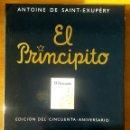 Libros: EL PRINCIPITO. EDICIÓN DE LUJO 50 ANIVERSARIO. NUEVO. EDITORIAL SALAMANDRA.. Lote 154355542