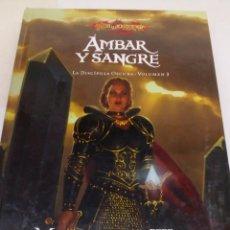 Libros: LIBRO AMBAR Y SANGRE. Lote 156808221