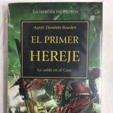 Libros: LA HEREJÍA DE HORUS 14. EL PRIMER HEREJE. LA CAÍDA EN EL CAOS - AARON DEMBSKI-BOWDEN - TIMUNMAS. Lote 156946868