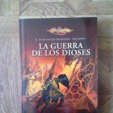 Libri: WEIS HICKMAN - LA GUERRA DE LOS DIOSES - EL OCASO DE LOS DRAGONES VOLUMEN 2. Lote 158369698
