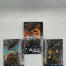 Libros: NOVELA LIBRO CIENCIA FICCION STAR DRIVE TRILOGIA DEL HERALDO COMPLETA EN 3 VOLUMENES 1 2 3 TIMUN MAS. Lote 164455322