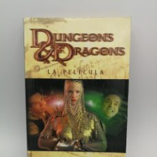 Libros: NOVELA LIBRO CIENCIA FICCION DUNGEONS & DRAGONS LA PELICULA TIMUN MAS. Lote 164461506