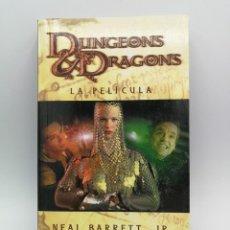 Libros: NOVELA LIBRO CIENCIA FICCION DUNGEONS & DRAGONS LA PELICULA TIMUN MAS. Lote 164462098