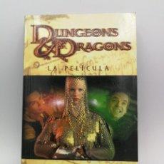 Libros: NOVELA LIBRO CIENCIA FICCION DUNGEONS & DRAGONS LA PELICULA TIMUN MAS. Lote 164462186