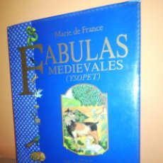Libros: FÁBULAS MEDIEVALES . YSOPET (ANAYA, 1989). Lote 164769574