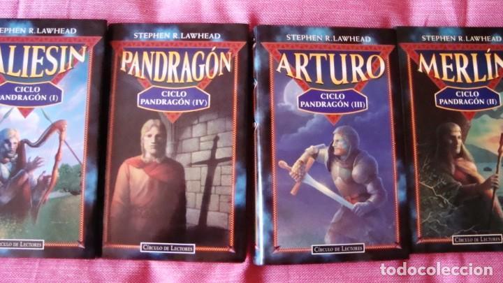 CICLO COMPLETO DE PANDRAGON STEPHEN R: LAWHEAD (Libros Nuevos - Literatura - Narrativa - Ciencia Ficción y Fantasía)