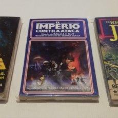 Libros: LOTE STAR WARS 3 LIBROS LA GUERRA DE LAS GALAXIAS EL IMPERIO CONTRAATACA EL RETORNO DEL JEDI 1A EDIC. Lote 171325058