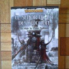 Libros: DAN ABNETT MIKE LEE - EL SEÑOR DE LA DESTRUCCIÓN. Lote 171400009