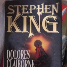 Libros: DOLORES CLAIBORNE STEPHEN KING. Lote 174068623