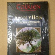 Livros: BIBLIOTECA TOLKIEN. ÁRBOL Y HOJA. POEMA DE MITOPAEIA. (NUEVO CON PLÁSTICO PROTECTOR).. Lote 178074919