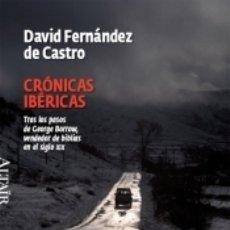Libros: CRÓNICAS IBÉRICAS. Lote 179240186