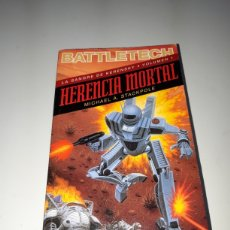 Libros: NOVELA BATTLETECH HERENCIA MORTAL LA SANGRE DE KERENSKY 1 TIMUN MAS. Lote 181521930