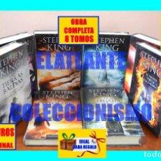 Libros: LA TORRE OSCURA SERIE COMPLETA 8 TOMOS (INCLUYE EL VIENTO POR LA CERRADURA) - STEPHEN KING - 252 €. Lote 185755278