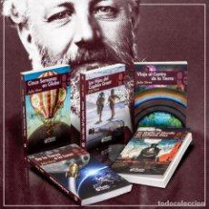 Libros: PACK JULIO VERNE. 5 LIBROS - JULIO VERNE DESCATALOGADO!!! OFERTA!!!. Lote 190012005