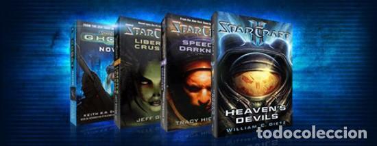 9 NOVELAS STARCRAFT (Libros Nuevos - Literatura - Narrativa - Ciencia Ficción y Fantasía)