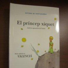 Libros: EL PRINCIPITO EN VALENCIANO, SAINT EXUPERY. Lote 192686587