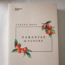 Libros: NARANJAS DE SANGRE. Lote 195017891