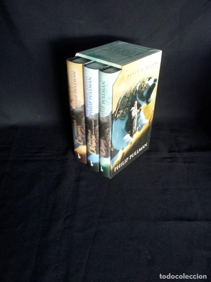 PHILIP PULLMAN - LA MATERIA OSCURA (EDICION ESPECIAL, 3 TOMOS) - EDICIONES B 2007 (Libros Nuevos - Literatura - Narrativa - Ciencia Ficción y Fantasía)