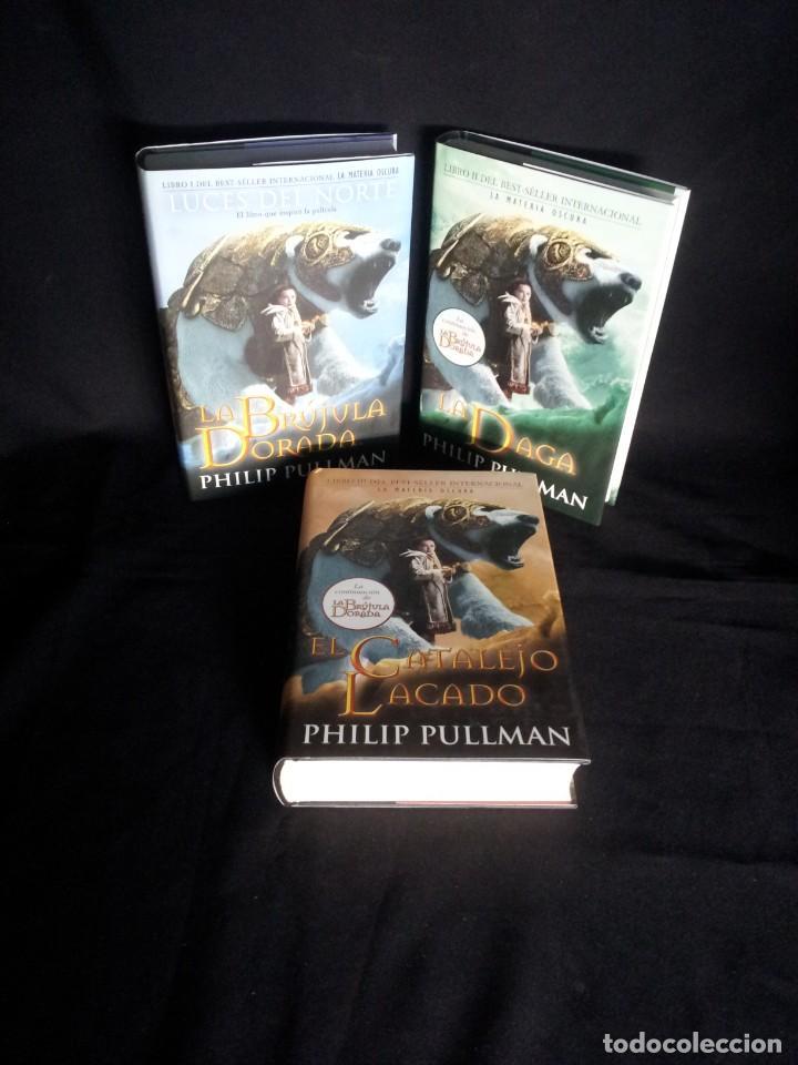 Libros: PHILIP PULLMAN - LA MATERIA OSCURA (EDICION ESPECIAL, 3 TOMOS) - EDICIONES B 2007 - Foto 2 - 195297315