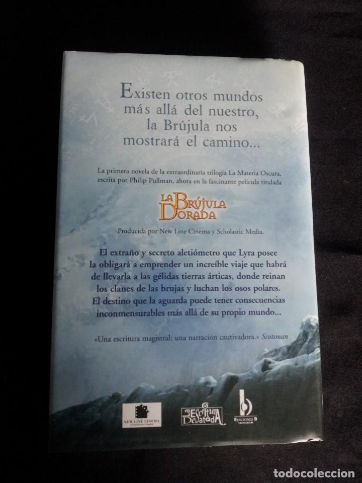 Libros: PHILIP PULLMAN - LA MATERIA OSCURA (EDICION ESPECIAL, 3 TOMOS) - EDICIONES B 2007 - Foto 4 - 195297315