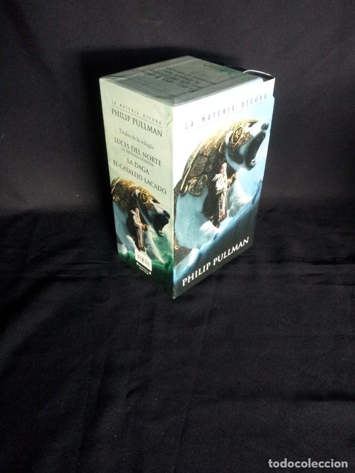 Libros: PHILIP PULLMAN - LA MATERIA OSCURA (EDICION ESPECIAL, 3 TOMOS) - EDICIONES B 2007 - Foto 16 - 195297315