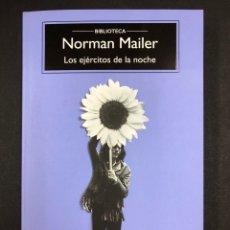 Libros: LOS EJERCITOS DE LA NOCHE - N. MAILER - COMPACTOS ANAGRAMA5ª ED. 2020 - NUEVO DE EDITORIAL, SIN LEER. Lote 196912186