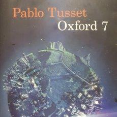 Libros: OXFORD 7 DE PABLO TUSSET. Lote 198072695