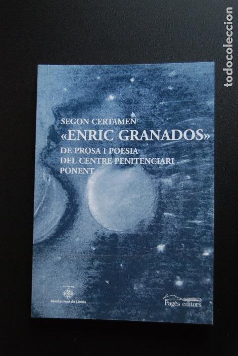 6- SEGON CERTAMEN ENRIC GRANADOS DE PPROSA I POESIA DEL CENTRE PENITENCIARI DE PONENT (Libros Nuevos - Literatura - Narrativa - Ciencia Ficción y Fantasía)