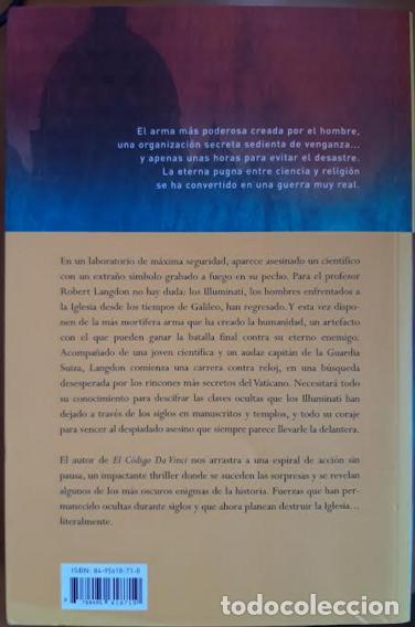 Libros: ANGELES Y DEMONIOS - Foto 2 - 201287543