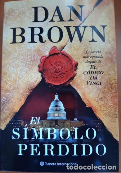 EL SÍMBOLO PERDIDO (Libros Nuevos - Literatura - Narrativa - Ciencia Ficción y Fantasía)