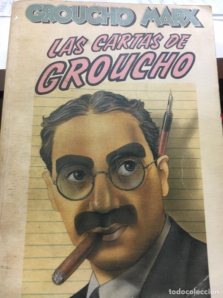 LAS CARTAS DE GROUCHO (Libros Nuevos - Literatura - Narrativa - Ciencia Ficción y Fantasía)