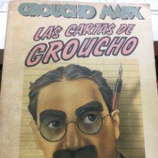 Libros: LAS CARTAS DE GROUCHO. Lote 202403388