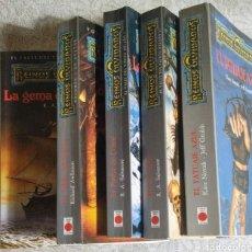 Libros: 5 LIBROS,REINOS OLVIDADOS. Lote 207796002