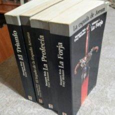 Libros: 4 VOL.LA ESPADA DE JORAM. Lote 207797278