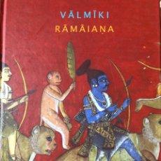 Livres: RAMAIANA (MEMORIA MUNDI) VALMIKI LIBRO EDITA ATALANTA. Lote 208992475
